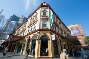 Palace Hotel Sydney Exterior